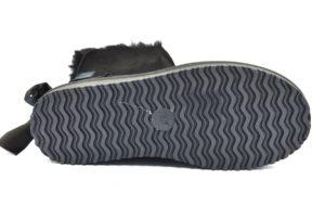 GAVì X015 NERO Stivale stivaletto con pelliccia interna con suola in gomma autunno inverno