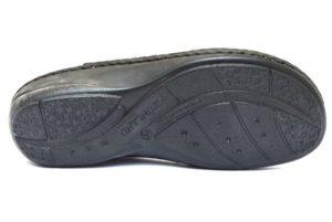 GRUNLAND DARA CE0662 68 ARGENTO ciabatte pantofole donna estive plantare estraibile sottopiede in sughero chiusura a strappo