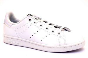adidas aq6272 stan smith bianco sneaker donna stringate vera pelle plantare estraibile