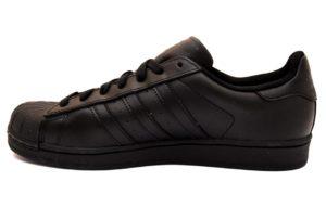 adidas af5666 superstar nero sneaker uomo ragazzo unisex tempo libero