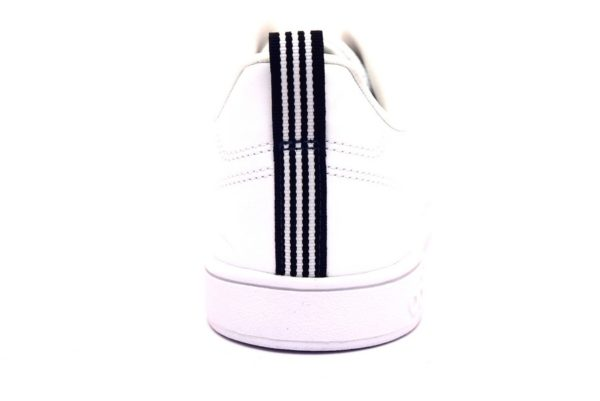 adidas f99252 vs advantage cl bianco nero sneaker uomo ragazzo tempo libero lacci unisex