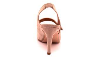 divine follie 4288 nude sandalo donna chanel scamosciato made in italy punta sfilata