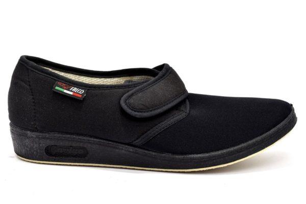 gaviga 2193 nero pantofole estive strappo suola gialla