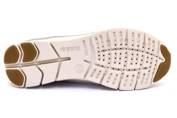 geox d52f2a 085ew c1000 sukie bianco sneaker scarpe donna estive in tessuto stringata da paletsra per camminare comode