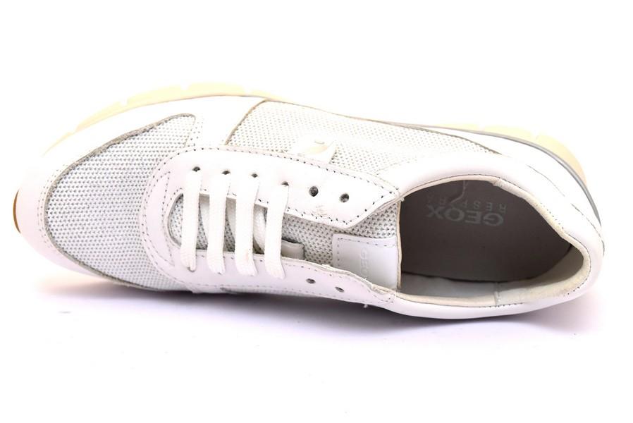 geox d52f2a 085ew c1000 sukie bianco sneaker scarpe donna estive in tessuto  stringata da paletsra per 10c0514afa9