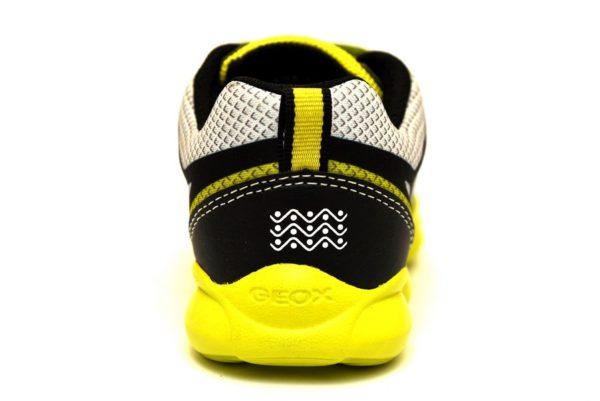 geox j924ba 014bu c3s9b j munfrey sneaker giallo strappi bambino sport palestra estive scarpe giallo lime