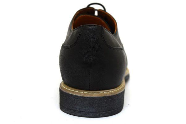 igieco 3100100 nero scarpe uomo vera pelle stringate sera cerimonie