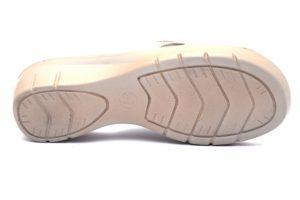inblu nf000010 bianco ciabatte donna strass zeppa sottopiede anatomico soft