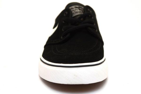 nike 525104 021 stefan janoski nero sneaker ragazzo unisex tempo libero lacci