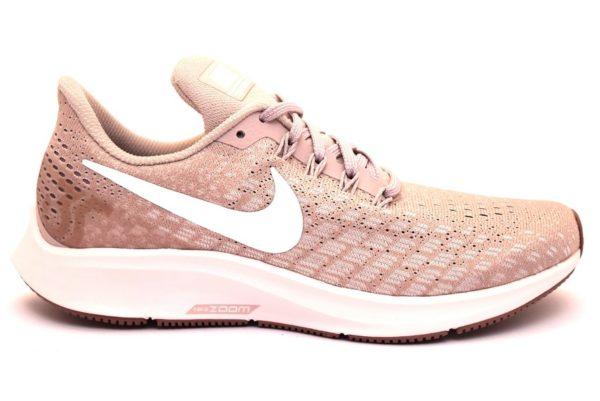 nike 942855 605 air zoom pegasus 35 cipria scarpe sneaker running lacci palestra sport scarpe estive primavera