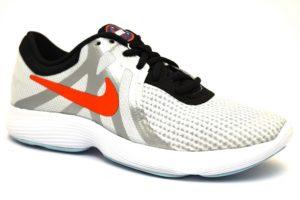 nike ar0202 001 revolution grigio sneaker scarpe ragazzo donna lacci sport palestra estive