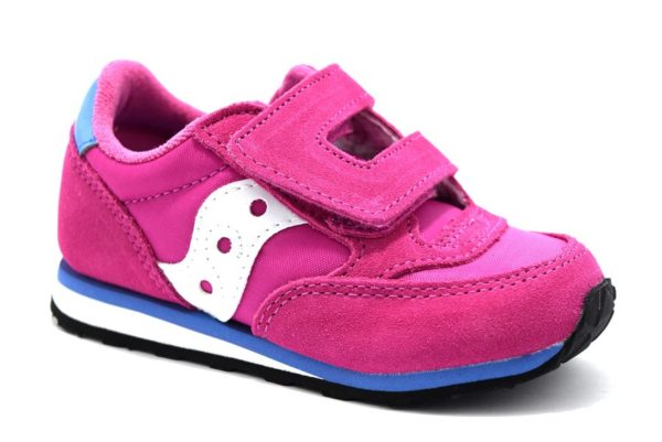 saucony sl159643 baby jazz magenta sneaker bambina strappi tempo libero sport