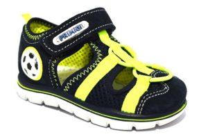 Primigi 3380500 blu verde fluo sandali estate bambino strappi