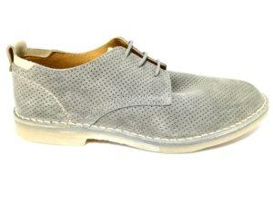 cafènoir itl621 016 grigio tl621 scarpe uomo eleganti scamosciate lacci stringate