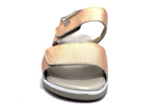 grunland lacc sa1888 78 cipria sandali donna vera pelle strappi tempo libero