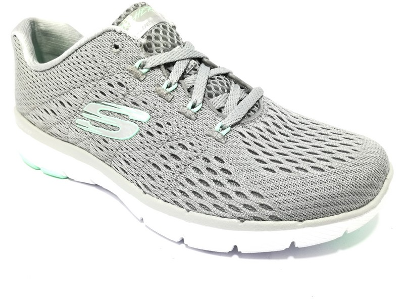 SKECHERS 13064 GYMN GRIGIO Sneaker Donna | shoesmyfriends.it