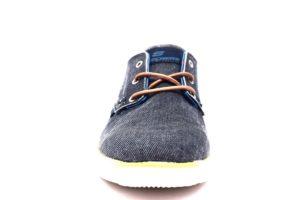 skechers 65910 nvy navy blu sneaker scarpe estive jeans lacci air cooled memory foam tempo libero