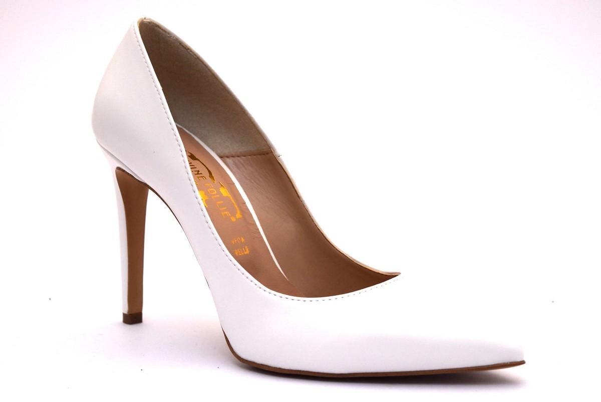 Scarpe Sposa Bianche.Divine Follie 270 Bianco Scarpe Bianche Decollete Donna Sposa