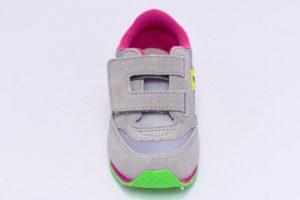saucony sl159642 grey yellow grigio gialo fucsia baby jazz sneakers da bambina con strappi
