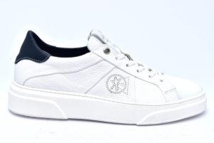 cafenoir ipv121 2062 pv121 bianco blu sneakers uomo scarpe stringate casual primavera estate