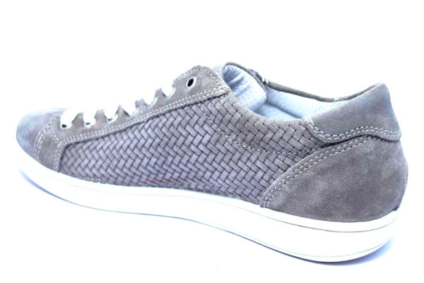 igieco 3131233 grigio scarpe sneakers estive da uomo in nabuk con planatre anatomico estraibile