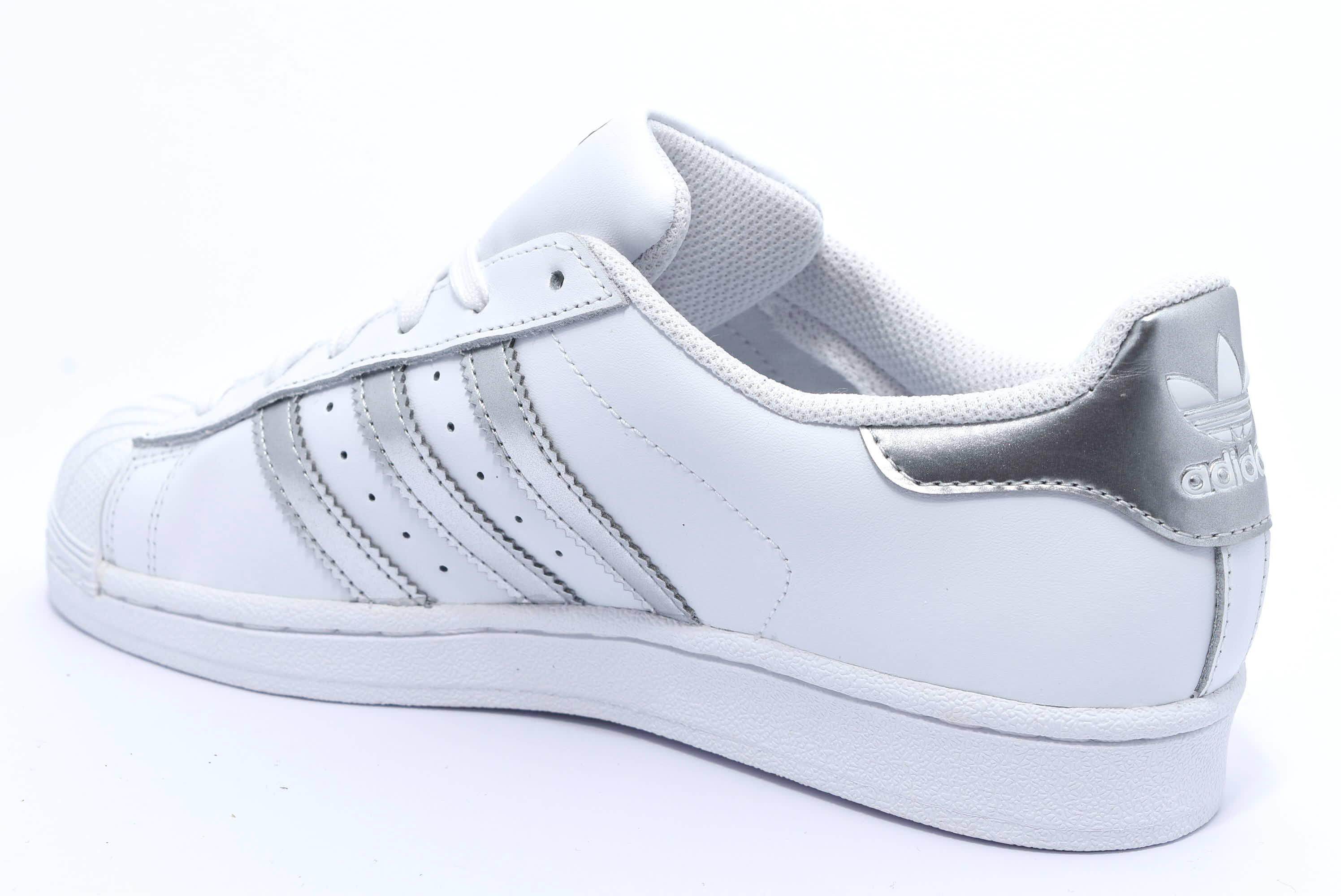 adidas donna scarpe argentate