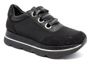 cafenoir hdb964 010 db964 nero scarpe platform sneakers invernali donna collezione autunno inverno