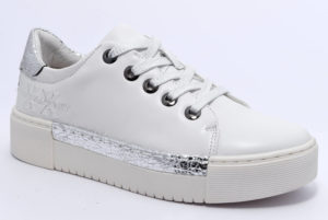 cafenoir hdd137 2153 dd137 bianco argento scarpe platform stringate invernali donna collezione autunno inverno