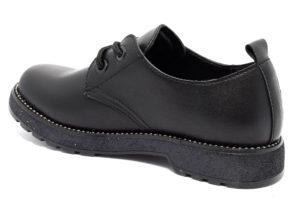 cafenoir hfa960 010 fa960 nero scarpe tacco blocchetto stringate invernali donna collezione autunno inverno
