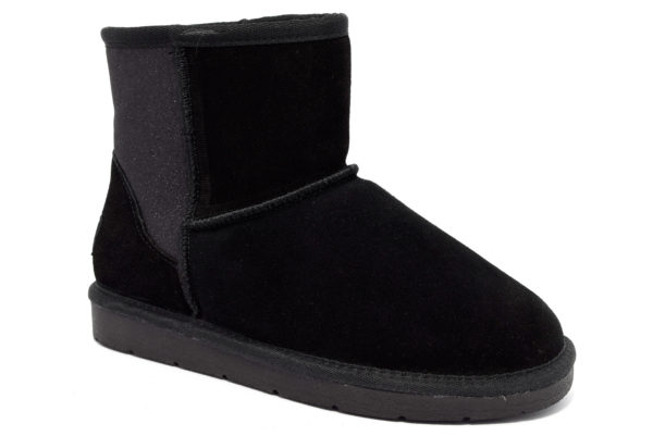 cafenoir hfd681 010 fd681 nero scarpe zeppa stivaletti invernali donna collezione autunno inverno