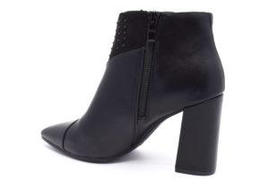 cafenoir hma943 010 ma943 nero borchie scarpe tacco alto tronchetti invernali donna collezione autunno inverno