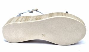 divine follie 2692 bianco sandali con zeppa e platform con cinturino da donna primavera estate