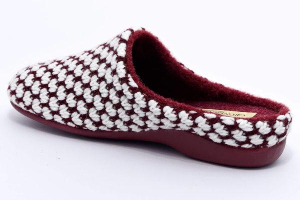 grunland alin ci2043 58 bordo ciabatte pantofole panno zeppa invernali da donna collezione autunno inverno