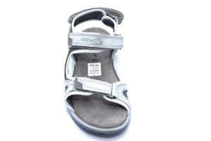 grunland olly sa1757 75 grigio argento sandali da donna sportivi con strappi da trekking cinturino primavera estate