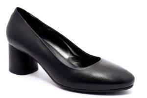 igieco 4185000 nero scarpe decollete tacco blocchetto invernali donna collezione autunno inverno