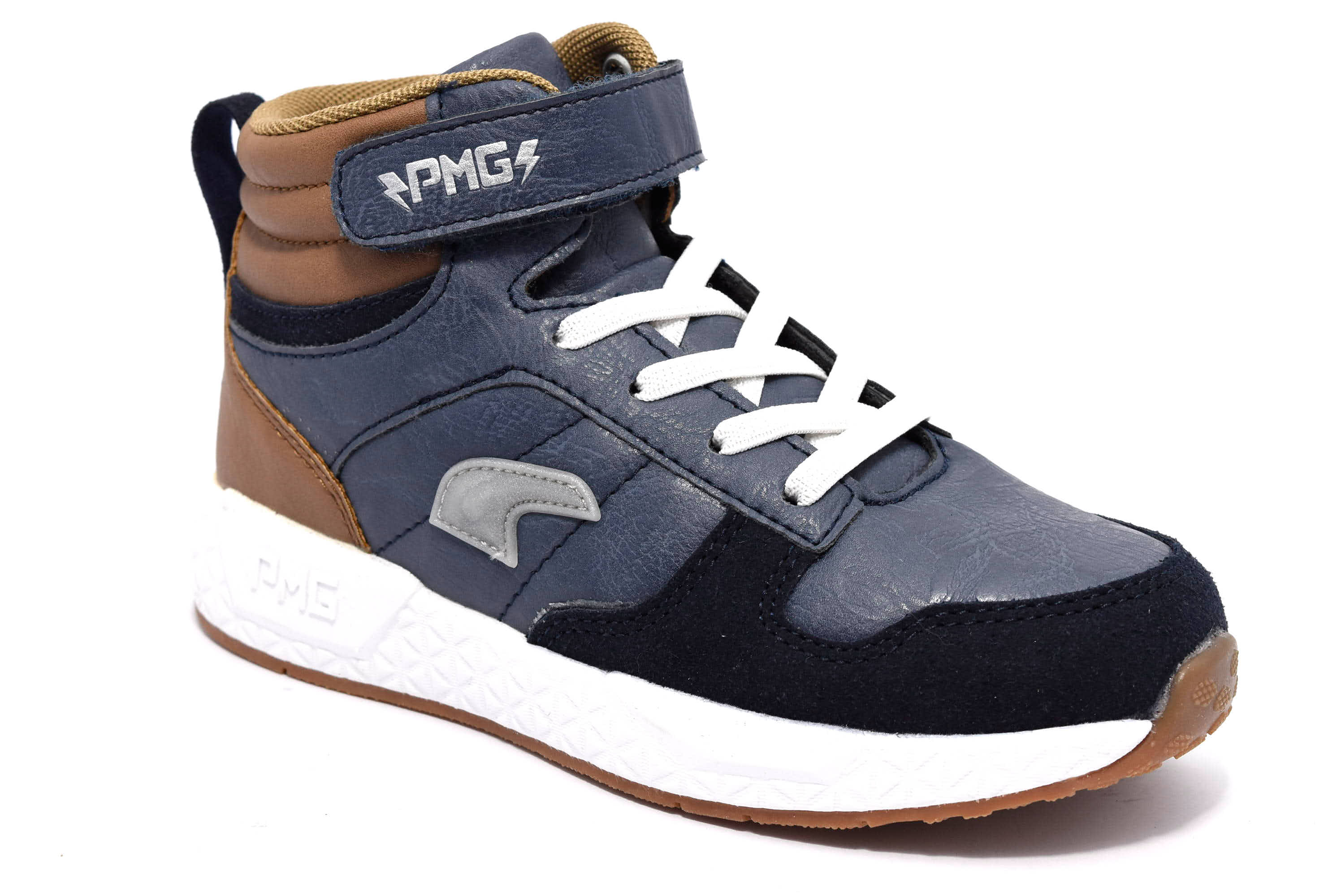 Dettagli su PRIMIGI 4457111 NAVY Grigio Blu Bianco Scarpe Polacchi Sneaker Invernali Bambino