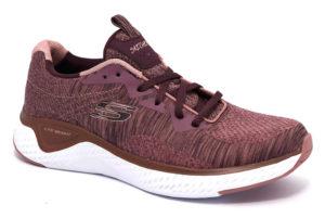 skechers 13328 mve mauve bordeaux scarpe sneakers memory foam air cooled invernali da donna collezione autunno inverno