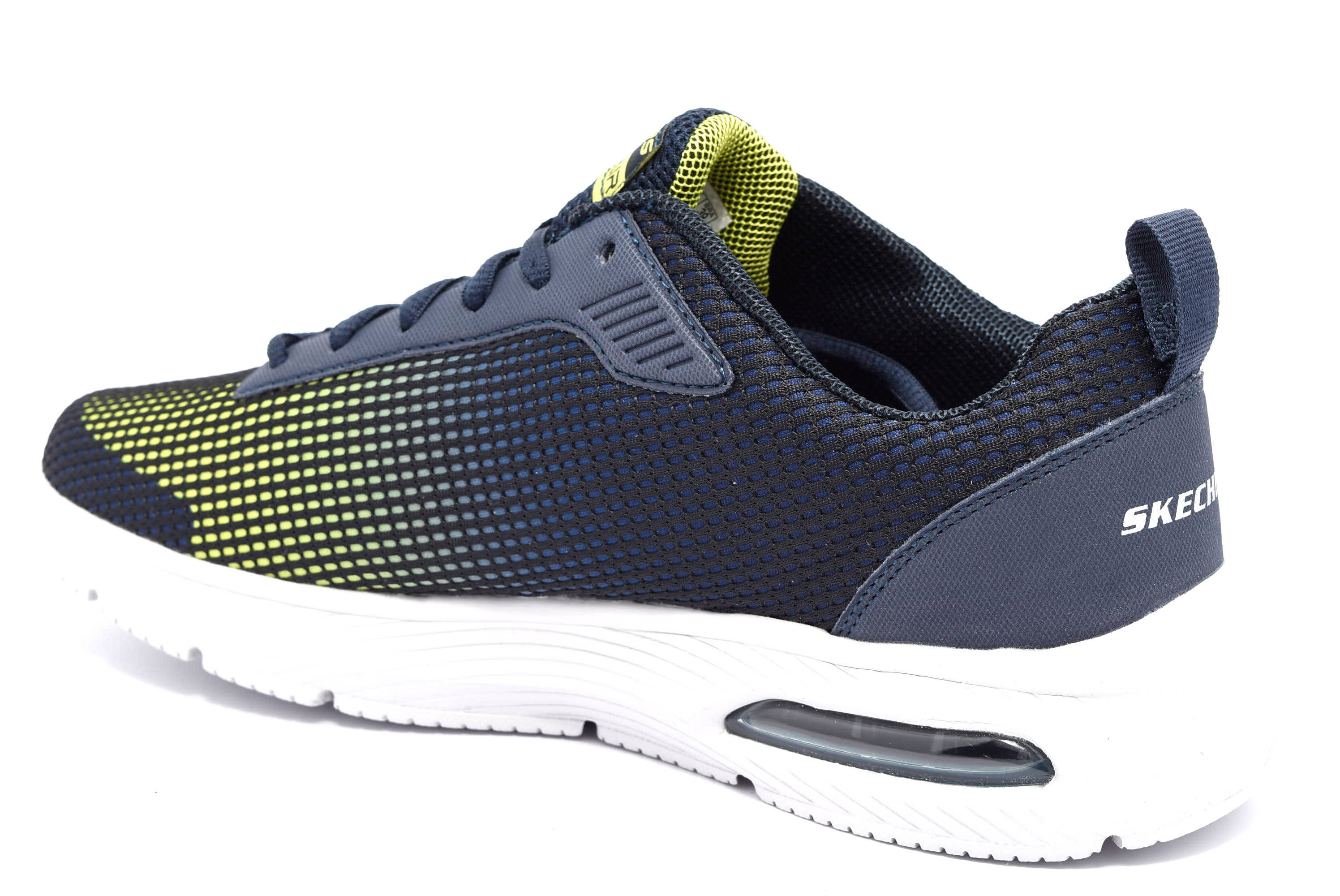 SKECHERS 52558 NVLM Sneakers Uomo in Mesh | shoesmyfriends.it