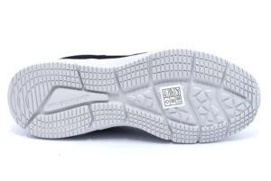 skechers 52558 nvlm navy lime blu scarpe sneakers memory foam air cooled invernali da uomo collezione autunno inverno
