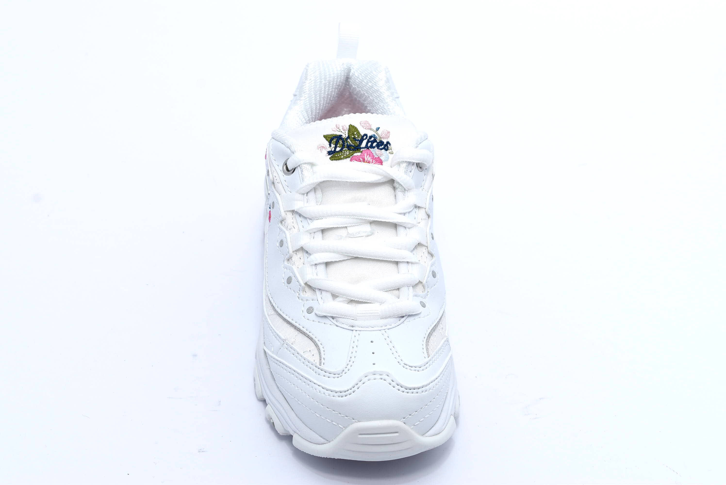 SKECHERS 80589L WHT BIANCO Scarpe Ginnastica Sneakers Memory