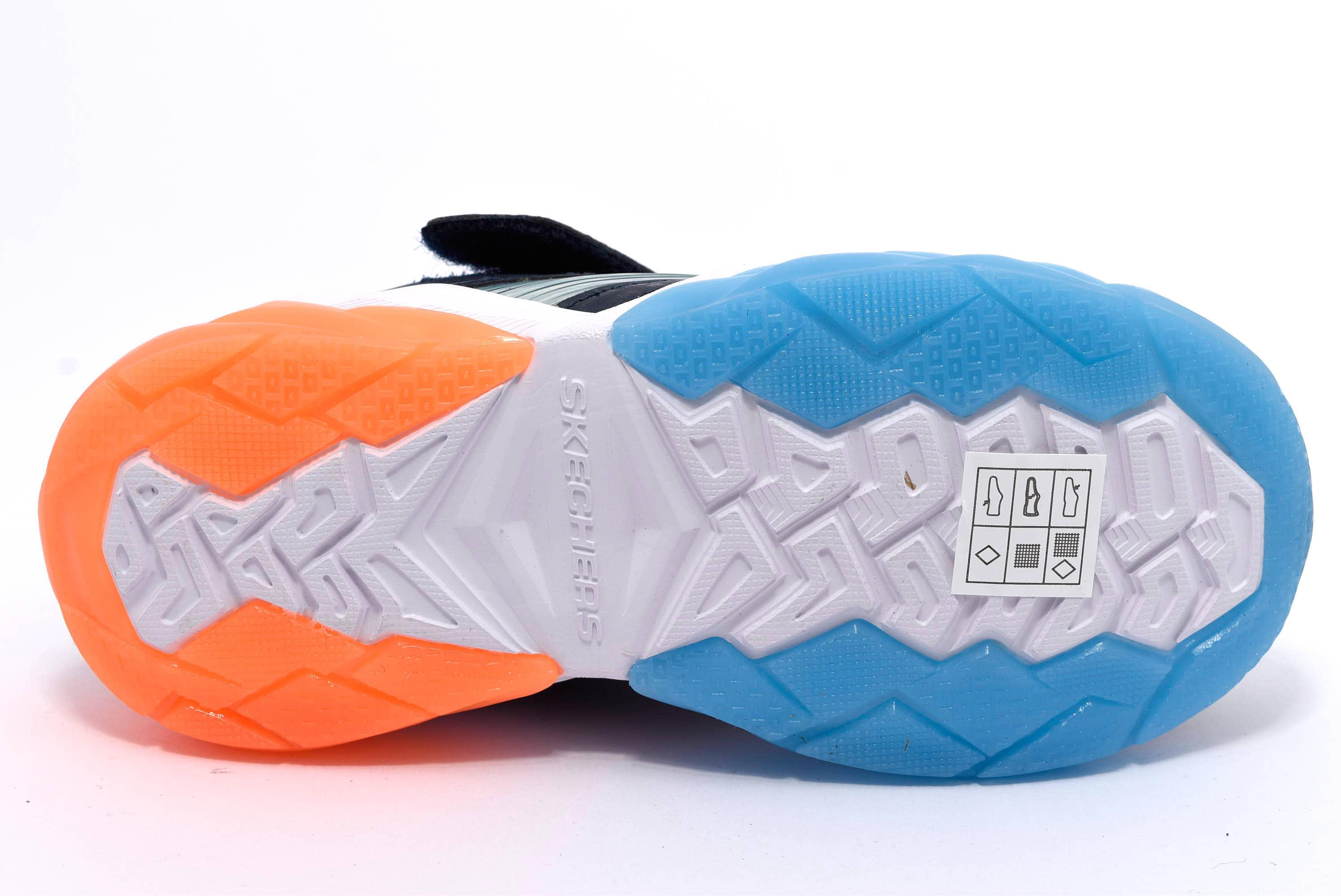 SKECHERS 90725L NVOR Sneakers luci da bambino