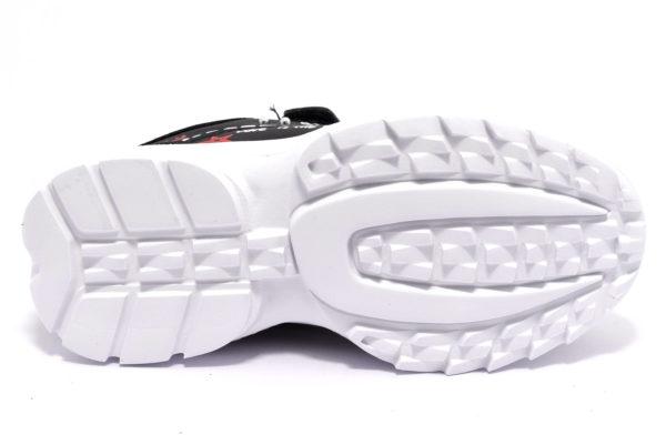 primigi 4459200 nero scarpe sneakers invernali da bambina collezione autunno inverno