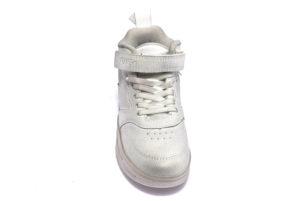 primigi 4463500 bianco scarpe sneakers invernali da bambino Con strappo e lacci elasticizzati collezione autunno inverno
