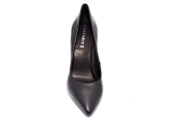 cafenoir hna441 010 na441 nero scarpe da infilare tacco alto decollete invernali da donna collezione autunno inverno