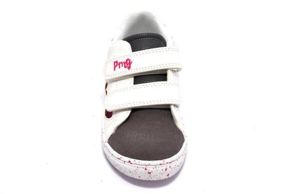 primigi 4456322 bianco scarpe sneakers invernali da bambina collezione autunno inverno