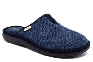 grunland enea ci1385 47 blu ciabatte pantofole sintetico da infilare zeppa ciabatte pantofole invernali da uomo collezione autunno inverno