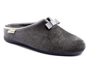 grunland adri ci1669 46 grigio ciabatte pantofole panno da infilare zeppa ciabatte pantofole invernali da donna collezione autunno inverno