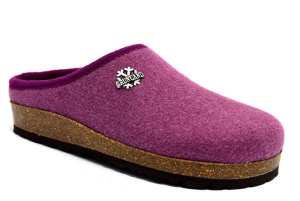 grunland sara cb0169 11 rosa antico ciabatte pantofole lana cotta slipon ciabatte pantofole invernali da donna collezione autunno inverno
