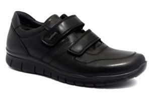 igi&co 4117500 nero scarpe vera pelle strappi sneakers invernali da uomo collezione autunno inverno