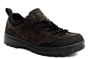 igieco 4123800 antracite scarpe vera pelle lacci sneakers invernali da uomo collezione autunno inverno
